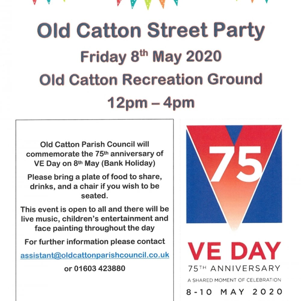 Old Catton Street Party 8th May