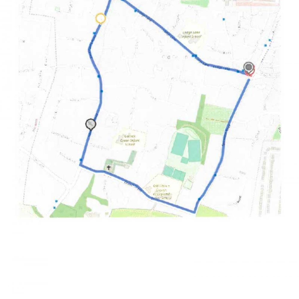 Temporary Traffic Order affecting the Lodge Lane