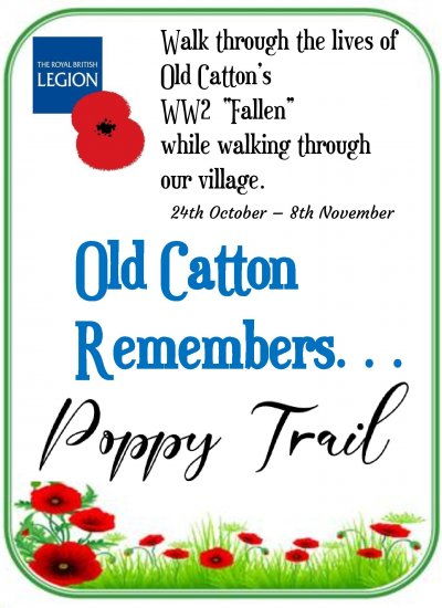 Old Catton Remembers Poppy Trail