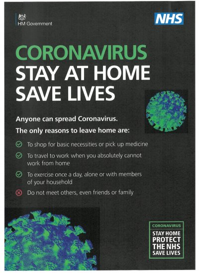 STAY AT HOME SAVE LIVES