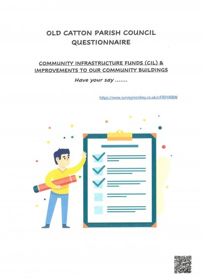 Questionnaire:  Community Infrastructure Funds and improvements to our community buildings