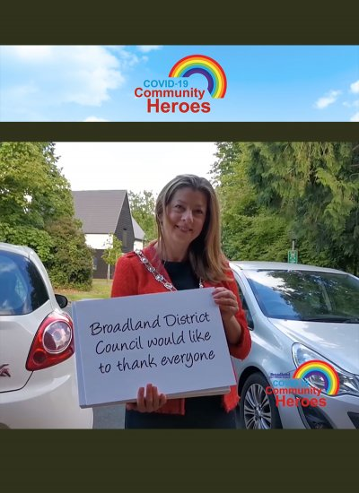 COVID-19 Community Heroes campaign